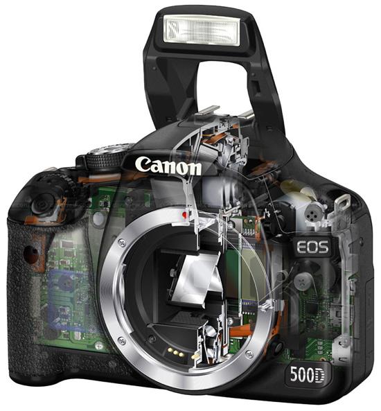 Анонс DSLR-камеры Canon EOS 500D - краткий обзор.