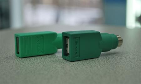 Адаптируем переходник USB-PS/2 для работы с флэшками.