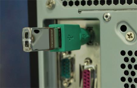 ...вроде бы такие существуют... переходники для флешки из USB в Ps 2 на данный момент есть переходник из...