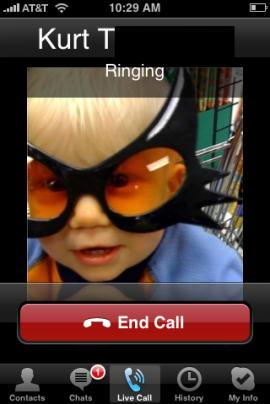 Появится Skype для iPhone.