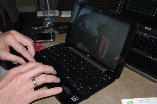 NVIDIA Tegra netbook
