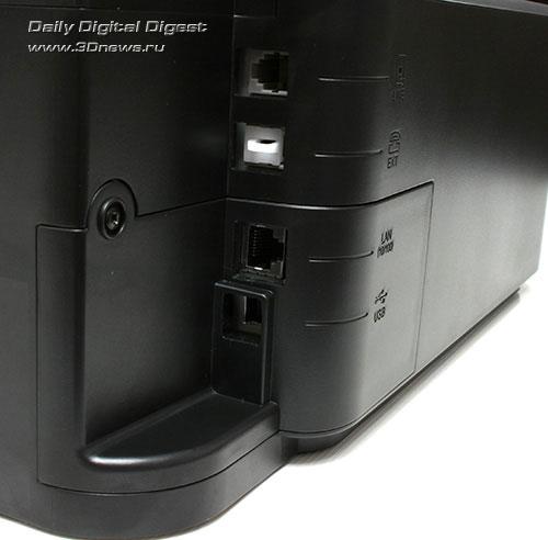 Epson Stylus Office TX600FW. Интерфейсные разъемы