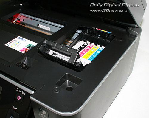 Epson Stylus Office TX600FW. Блок картриджей