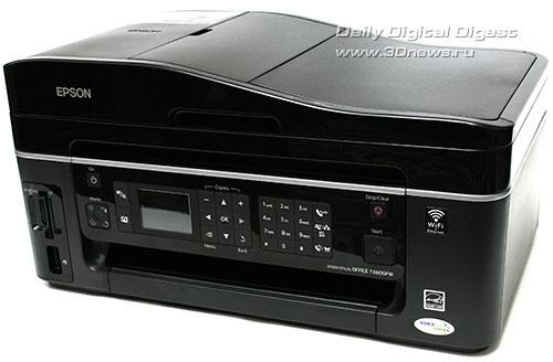 Epson Stylus Office TX600FW. Вид общий