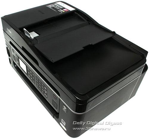 Epson Stylus Office TX600FW. Автоподатчки сканера