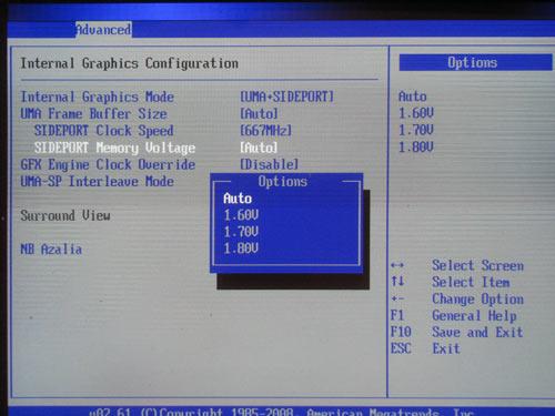 ASUS M3A78-T vSidePort