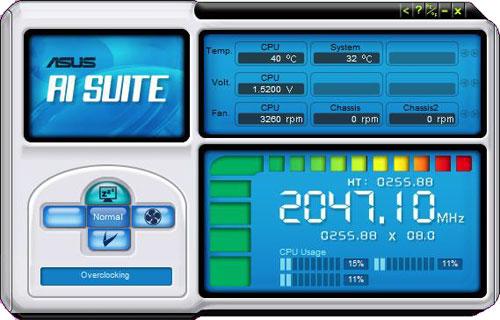 ASUS M4A79T Deluxe AI Suite