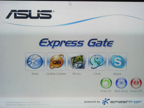 ASUS M4A79T Deluxe Express Gate Lite