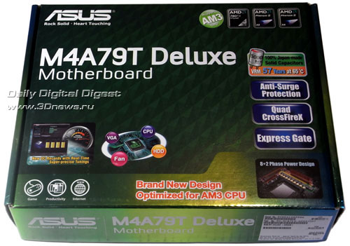 ASUS M4A79T Deluxe коробка