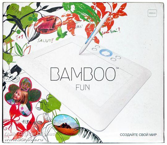 Упаковка - Wacom Bamboo Fun
