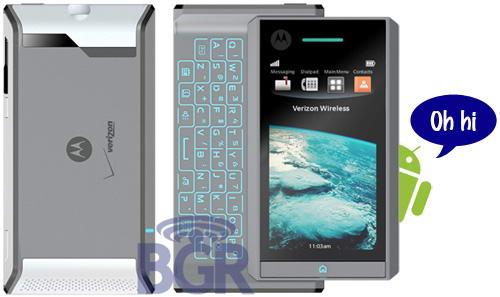 Motorola Calgary: Android-телефон с QWERTY и тачскрином
