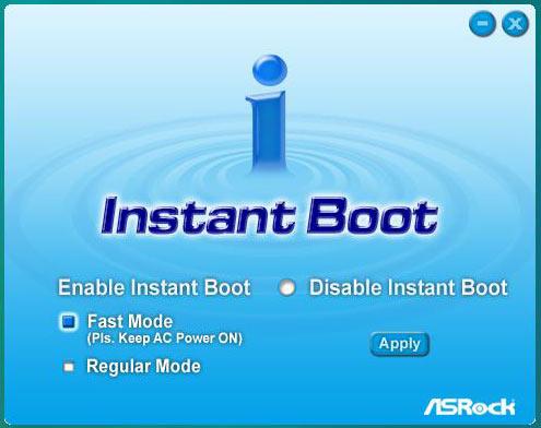 ASRock X58 Deluxe Instant Boot