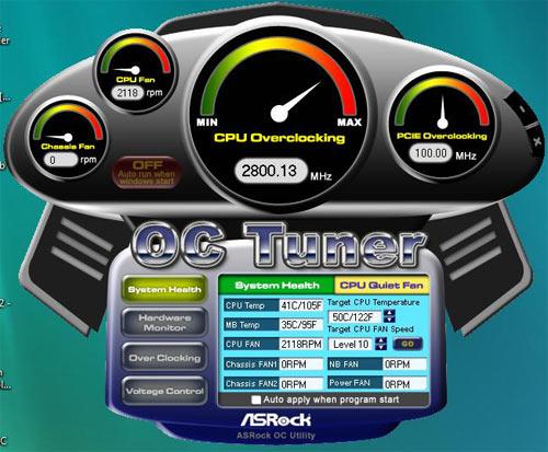 ASRock X58 Deluxe OC Tuner