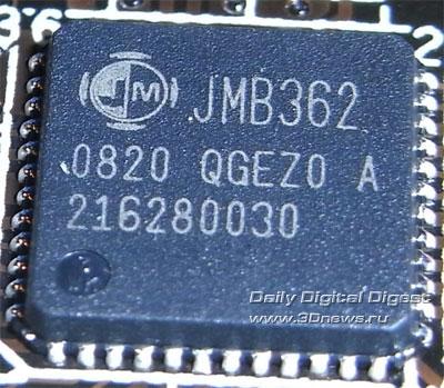 ASRock X58 Deluxe SATA-контроллер 1