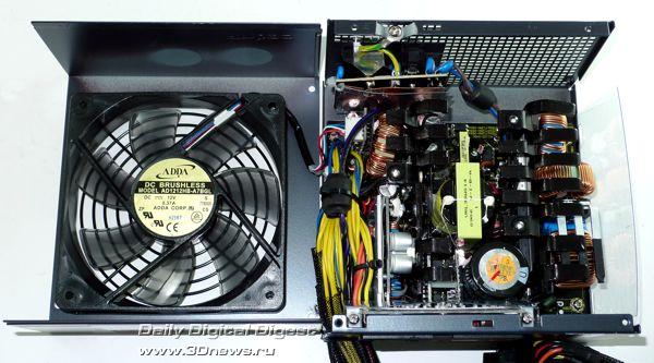 Конструкция Antec Truepower TP-750 Blue