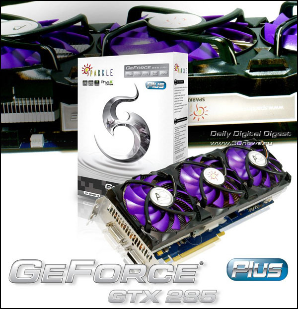SPARKLE GeForce GTX 285 Plus