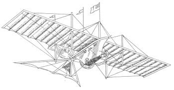 Паровой аэроплан Хенсона