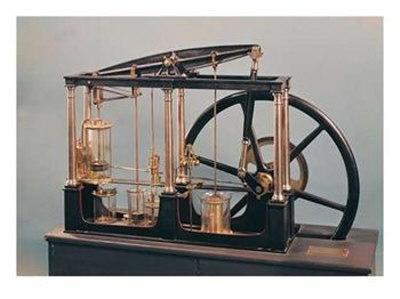 Модель паровой машины Уатта