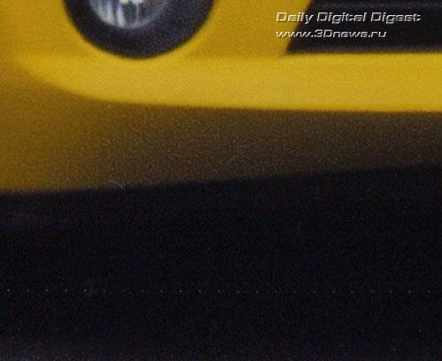 HP OfficeJet H470wbt. Следы на отпечатке, оставленные механизмом протяжки.