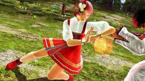 Российская девочка-робот в сарафане дерётся в игре Tekken 6