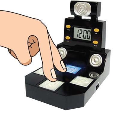 Также в устройстве наличествуют... придумала устройство Finger Dance...