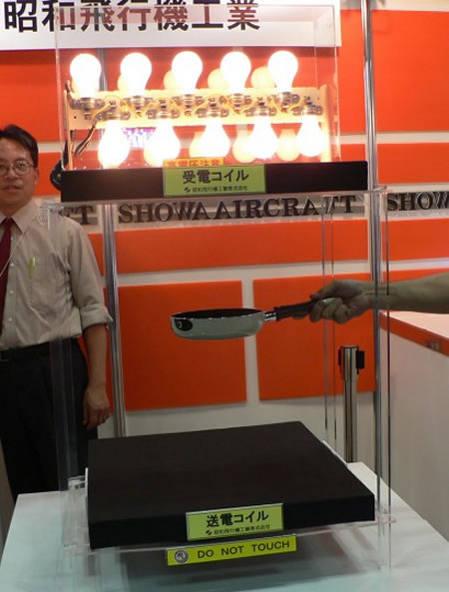 Беспроводная передача энергии Showa