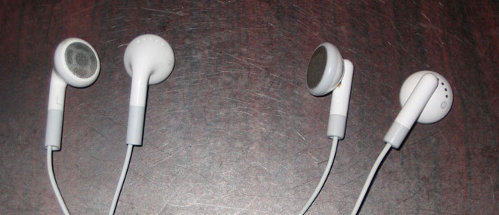 iPod/iPhone earbuds