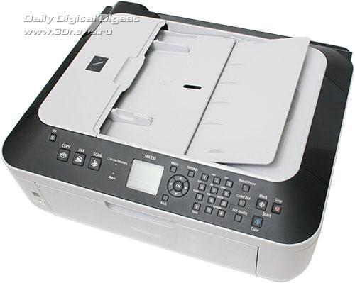 Canon PIXMA MX330. Автоподатчик бумаги