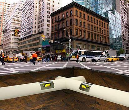 Городской крот - подземный трудяга