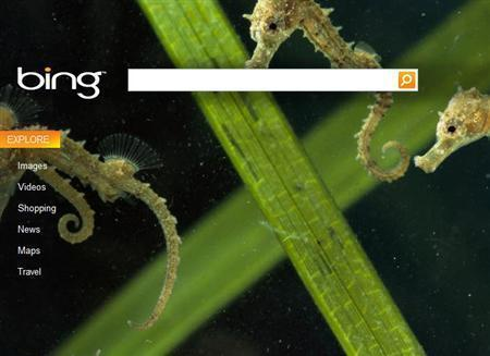 Страница Bing