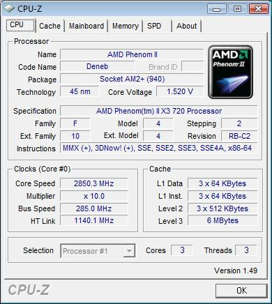 Elitegroup A790GXM-AD3 разгон CPU