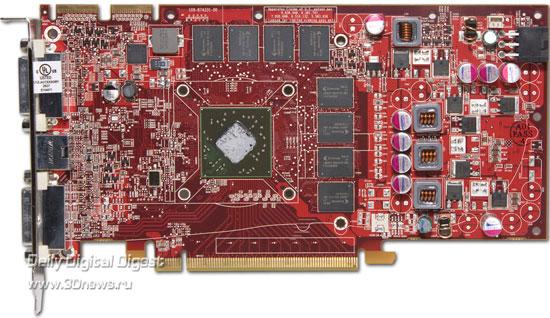 AMD Radeon HD 4770 без системы охлаждения