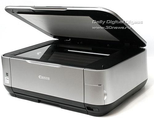 Canon PIXMA MP640. Вид общий. Открыта крышка сканера