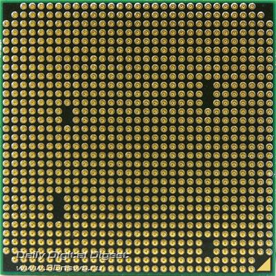 AMD Athlon II X4 620 вид снизу