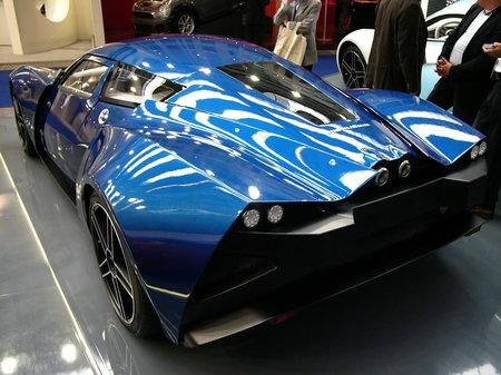 Живые фото российского суперкара Marussia B2