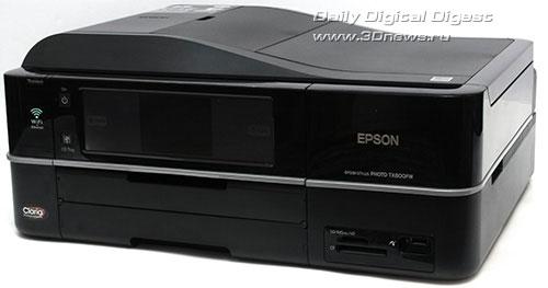 EPSON Stylus Photo TX800FW. Вид общий