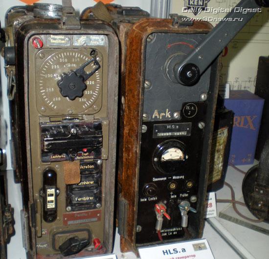 Портативная УКВ-радиостанция пехоты 'Фридрих'