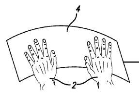 Apple патентует новую мультисенсорную технологию