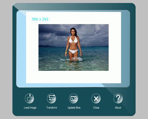 Biostar TA785GE-128M BIOS Screen