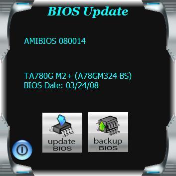 Biostar TA785GE-128M BIOS Update