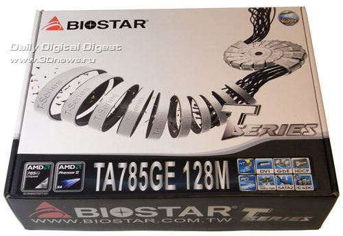 Biostar X58 Pro упаковка