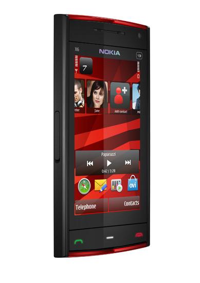 Флагманский мьюзикфон с сенсорным управлением, 5-Мп камерой и 32 Гб флеш-памяти Nokia X6 в продаже с 4...