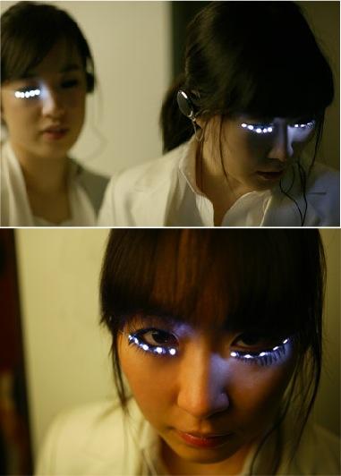 LED-макияж
