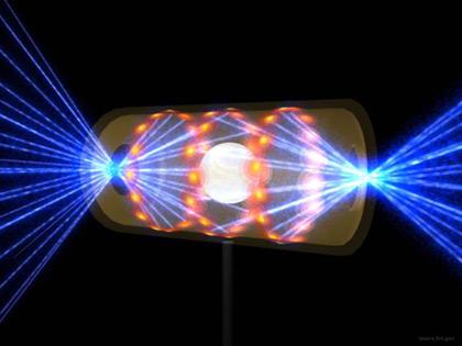 Лазеры стреляют в мишень