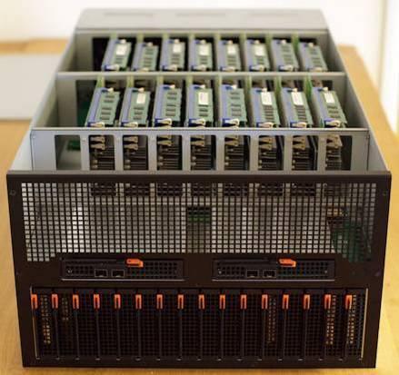 шасси для микросерверов Intel