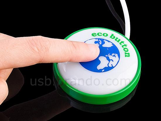 Интернет-магазин Brando предлагает приобрести эко-кнопку для компьютера.