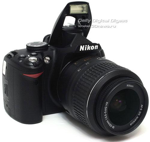 Nikon D3000. Вид общий