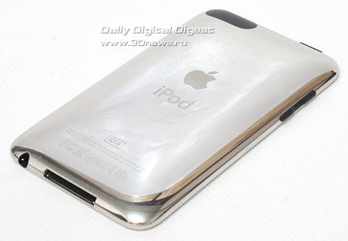iPod touch 3G.  Вид сзади.