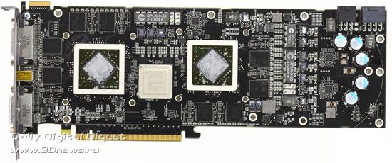 Sapphire Radeon HD 5970 без системы охлаждения