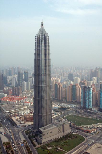 Башня Цзинь Мао. Источник: wikimedia.org
